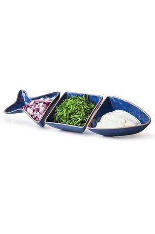 Менажница Fish, 30х10х4 см, синяя 5017779 Sagaform