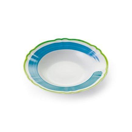 Набор тарелок Piatto Fondo Giotto, 22.5 см, 6 шт. 51096 Fade набор тарелок 24 см 6 шт royal porcelain co