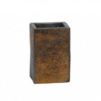 Стакан для зубных щеток Rust, 7.5х7х11 см BA12093 Andrea House