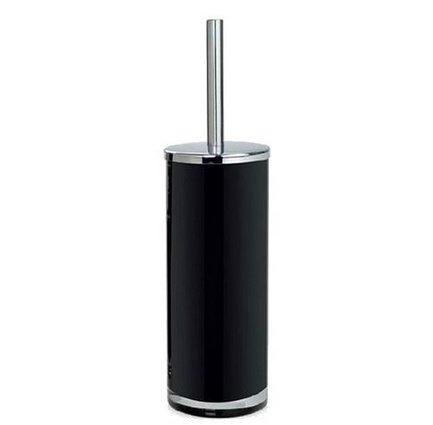 Ершик для туалета Black Glass and Chrome, 10х38.5 см BA13135 Andrea House светильник fametto dls l127 2001 luciole chrome glass