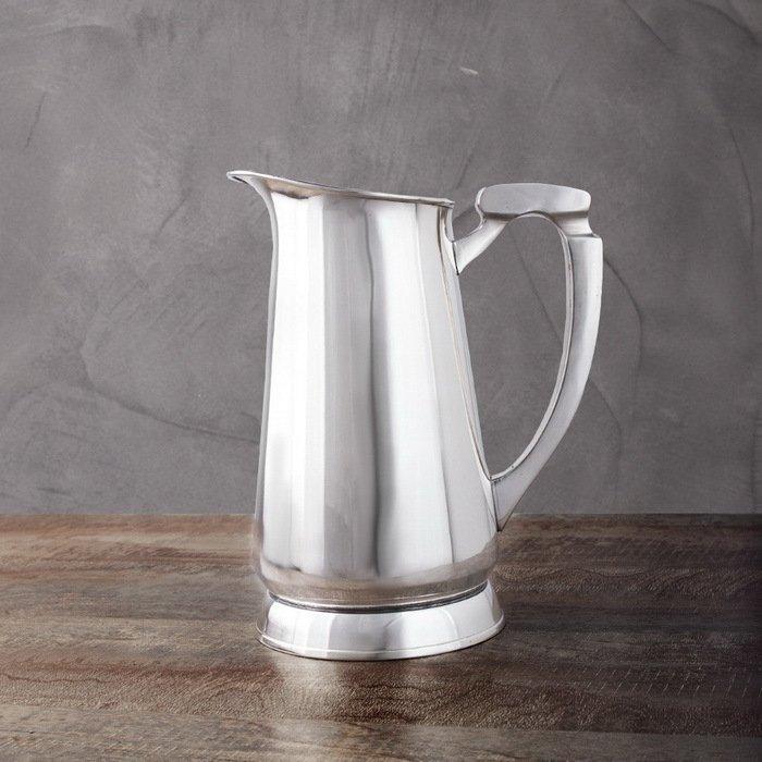 Кувшин, 17x17x21 см, серебряный от Superposuda