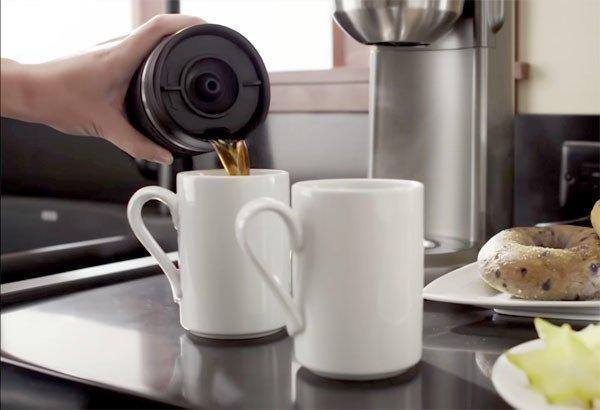 Кружка дополнительная для кофеварки 5KCM0402 (0.54 л), черная от Superposuda