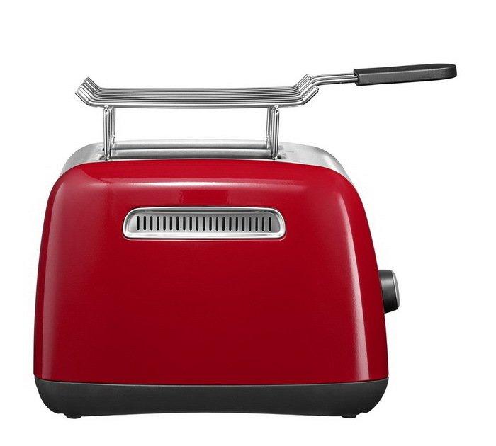 Тостер красный KMT221, загрузка 2 хлебца, красный от Superposuda