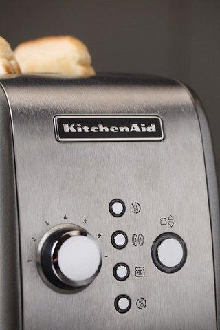 Тостер стальной KMT221, загрузка 2 хлебца, серебристый от Superposuda