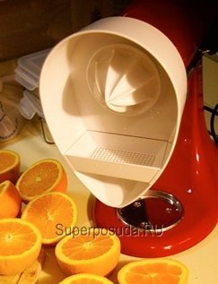 Насадка соковыжималка для цитрусовых от Superposuda