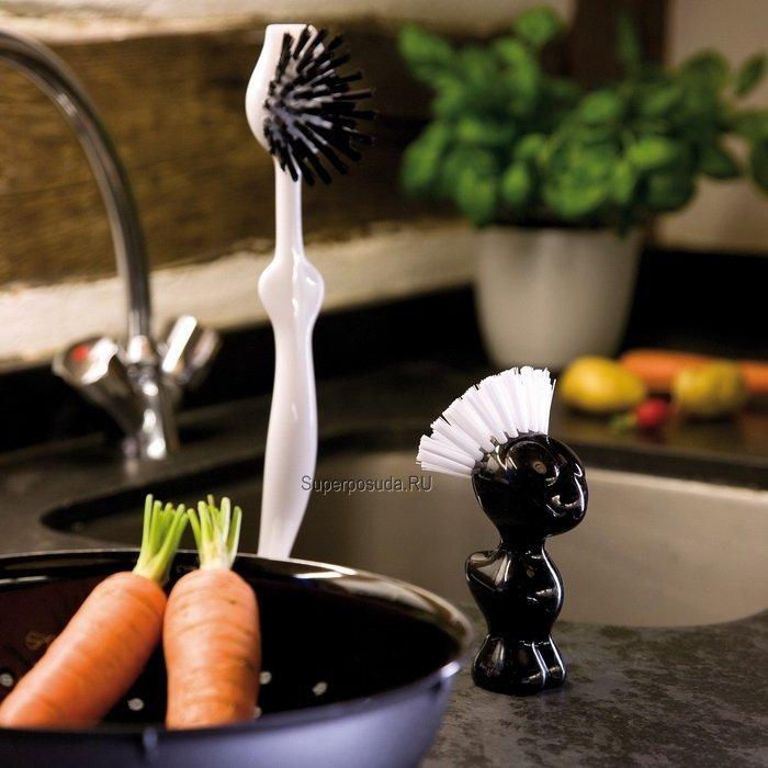 Щетка для чистки овощей TWEETIE (5029526), черная от Superposuda