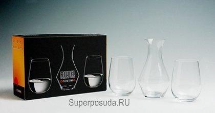 Набор бокалов для саке с декантером O Fortwo, 3 пр. от Superposuda