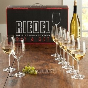 Набор бокалов для белого вина Chablis (350 мл), 8 шт. от Superposuda