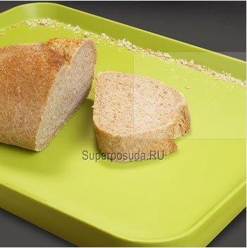 Поднос для сервировки и разделывания, 37.5х29.5 см, белый от Superposuda