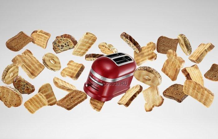 Тостер Artisan для 2 тостов, 5KMT2204ECA, карамельное яблоко от Superposuda