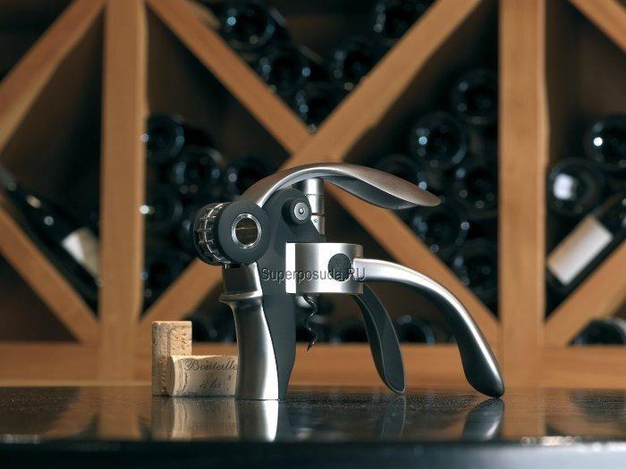 Штопор для вина Baltaz, механический, в подарочной упаковке, черный от Superposuda