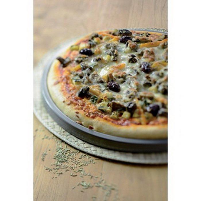 Противень для пиццы, 30 см, с антипригарным покрытием от Superposuda