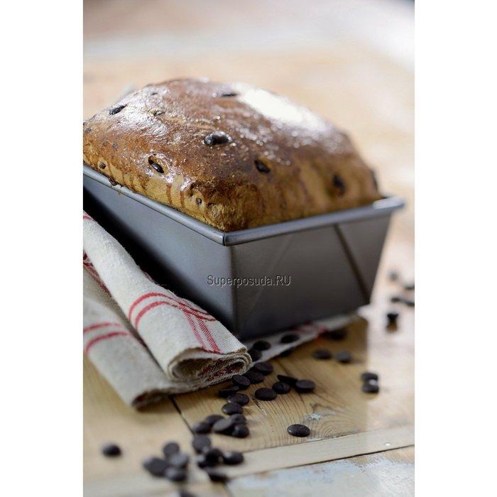 Форма для хлеба прямоугольная, 23х13 см, с антипригарным покрытием от Superposuda