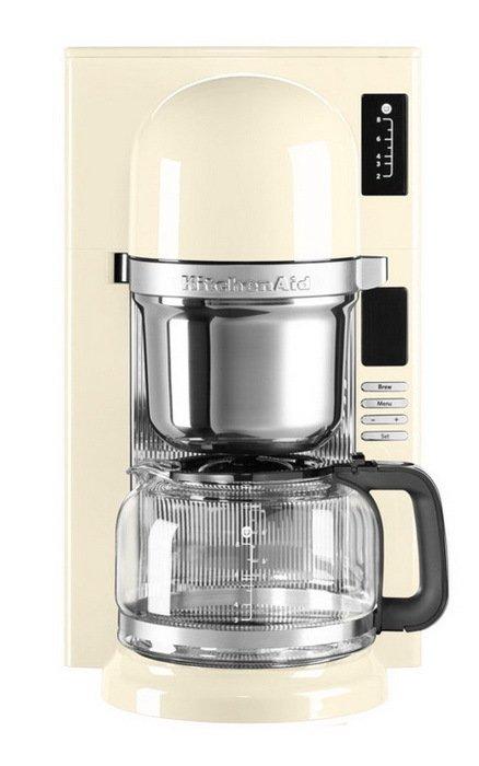 Кофеварка заливного типа, графин (1.18 л), кремовая от Superposuda