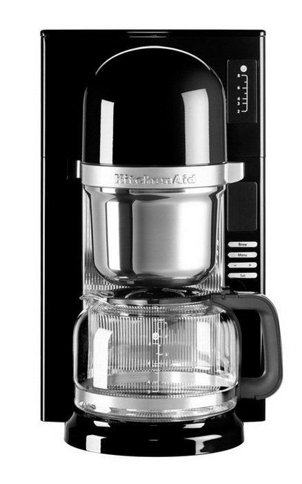 Кофеварка заливного типа, графин (1.18 л), черная от Superposuda