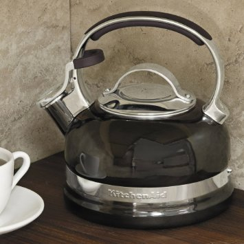 Чайник наплитный (1.89 л), со свистком, черный от Superposuda