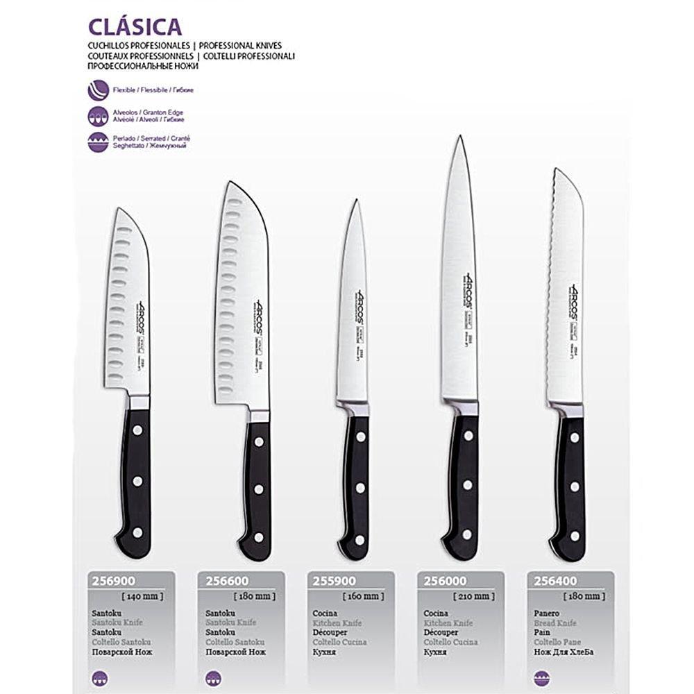 Набор ножей, 5 пр., в деревянной подставке от Superposuda