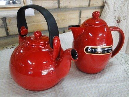 Чайник Colonial (1.7 л), красный от Superposuda