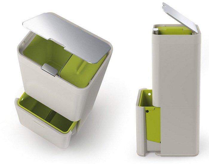 Фильтры для контейнера для сортировки мусора Totem, 7х0.5х9.5 см, 2 шт. от Superposuda