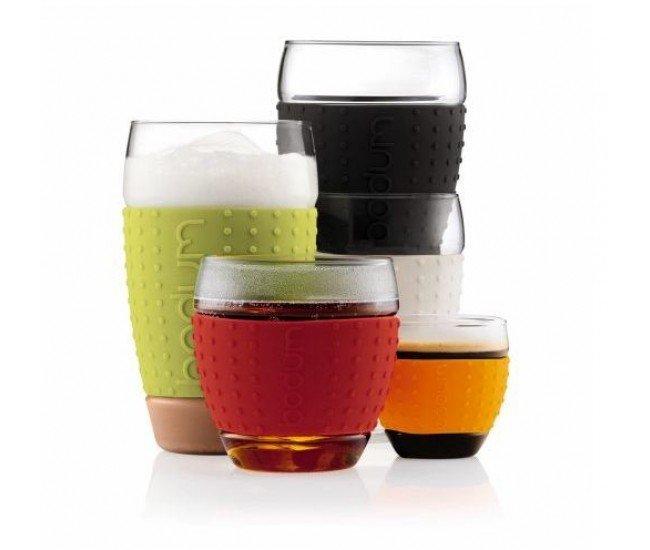 Набор бокалов Pavina (0.35 л), 8.2х8.2х8.7 см, лимонный, 2 шт. от Superposuda