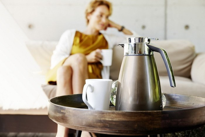 Термос-кофейник Bell 513813 (1.5 л), белый от Superposuda