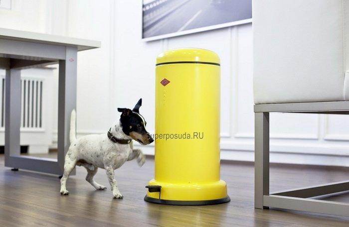 Мусорный контейнер с педалью (15 л), лимон (117543) от Superposuda