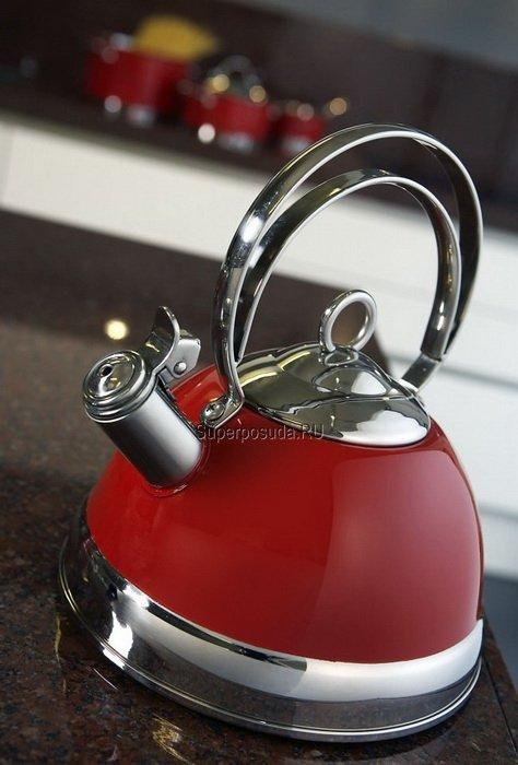Чайник (2.75 л), красный (340520-02) от Superposuda