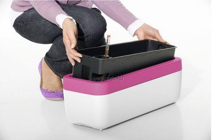 База балконного ящика myBOX, 75 см, розовая от Superposuda