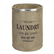 Andrea House Корзина для белья Laundry Grey, 39х55 см