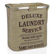 Andrea House Корзина для белья Laundry Grey, 52х32.5х55 см