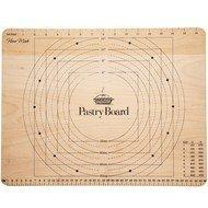 Kitchen Craft Доска для кондитерских изделий с мерами Home Made, 45х35х2 см