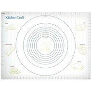 Kitchen Craft Коврик кондитерский с мерами, 61х43 см