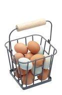Kitchen Craft Корзина для хранения яиц Living Nostalgia, 16х16х13.5 см