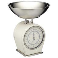 Kitchen Craft Весы кухонные механические Living Nostalgia (4 кг), кремовые