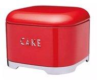 Kitchen Craft Ёмкость для хранения пироженых Lovello Retro, 26.5х19.5 см, красная