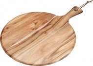 Kitchen Craft Сервировочная доска круглая KitchenCraft Natural Elements, 41х30х2 см