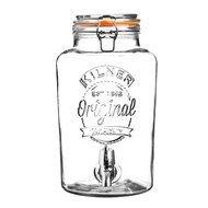 Kilner Диспенсер для напитков Clip Top (5 л), 22.5х19х31.5 см, в подарочной упаковке