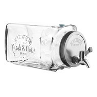 Kilner Диспенсер для холодных напитков (3 л), 12.5х14.2х32.8 см, в подарочной упаковке