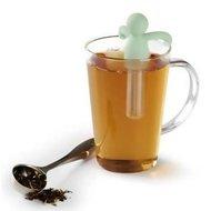 Umbra Емкость для заваривания чая Buddy, 7.5х10.5х1.9 см, мятная
