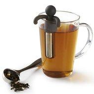 Umbra Емкость для заваривания чая Buddy, 7.5х10.5х1.9 см, черная