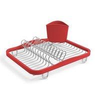 Umbra Сушилка для посуды Sinkin, 35.1х14.2х28 см, красная