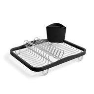 Umbra Сушилка для посуды Sinkin, 35.1х14.2х28 см, черная