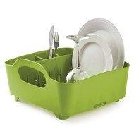 Umbra Сушилка для посуды Tub, 36.8х18.2х32 см, зеленая