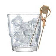LSA International Ведерко с щипцами для льда Mixologist, 14 см