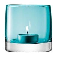 LSA International Подсвечник для чайной свечи Light Colour, 8.5 см, бирюзовый