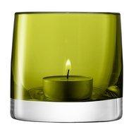 LSA International Подсвечник для чайной свечи Light Colour, 8.5 см, зеленый