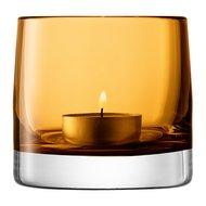 LSA International Подсвечник для чайной свечи Light Colour, 8.5 см, охра
