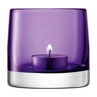 LSA International Подсвечник для чайной свечи Light Colour, 8.5 см, фиолетовый