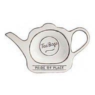 T&G Подставка для чайных пакетиков Pride of Place Cool White, 16.5x9.8x2 см, белая