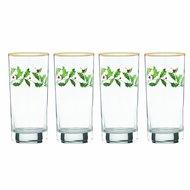 Lenox Набор бокалов для воды Новогодние праздники (350 мл), 4 шт